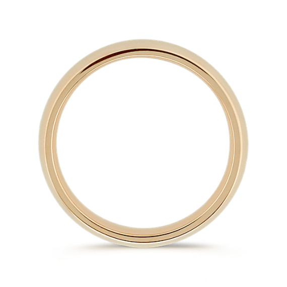 14k Yellow Gold Comfort Fit Wedding Band (5mm)