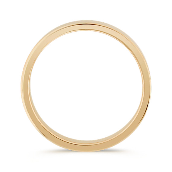 14k Yellow Gold Wedding Band (4mm)