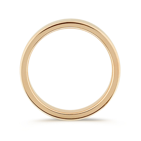 14k Yellow Gold Wedding Band (6mm)