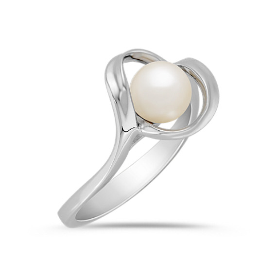 6.5mm Cultured Akoya Pearl Ring