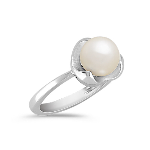 7.5mm Cultured Freshwater Pearl Ring