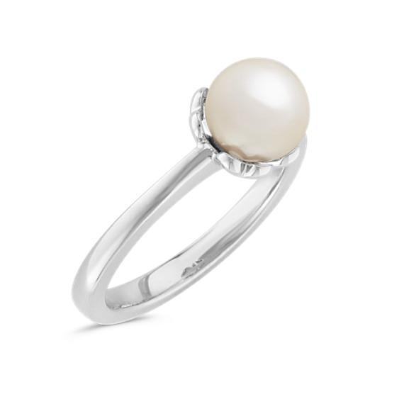 7mm Cultured Akoya Pearl Ring