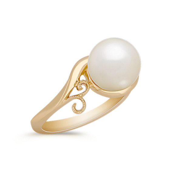 8.5mm Cultured Freshwater Pearl Ring