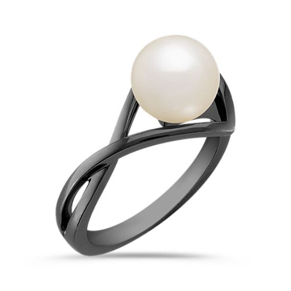 8mm Cultured Freshwater Pearl Ring