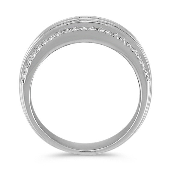 Baguette and Round Diamond Ring