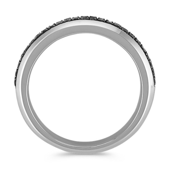 Black Sapphire Wedding Band (7mm)