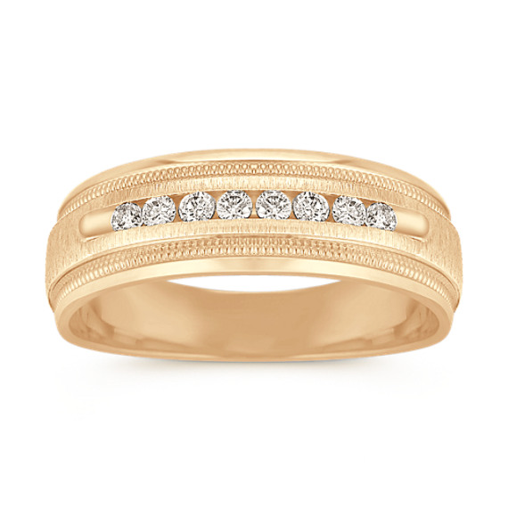 Channel-Set Diamond Ring