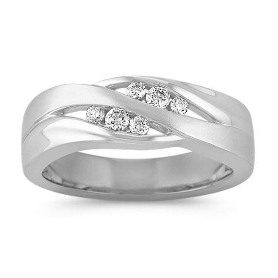 Channel-Set Diamond Ring (8mm)