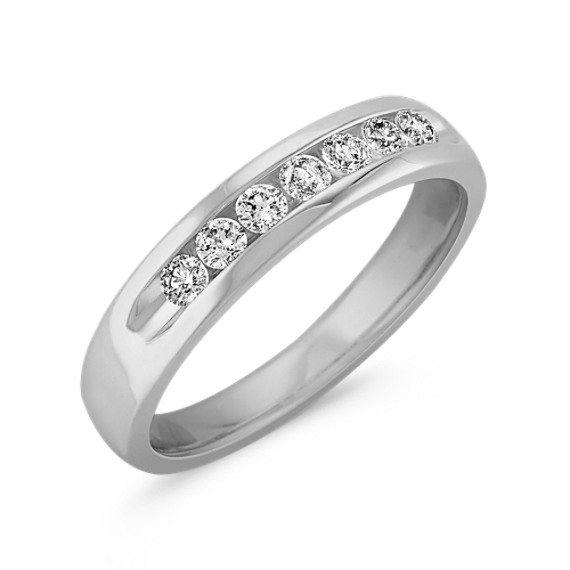Channel-Set Diamond Ring