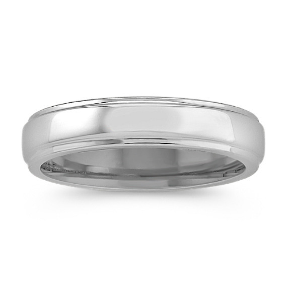 Cobalt Comfort Fit Ring (5mm)