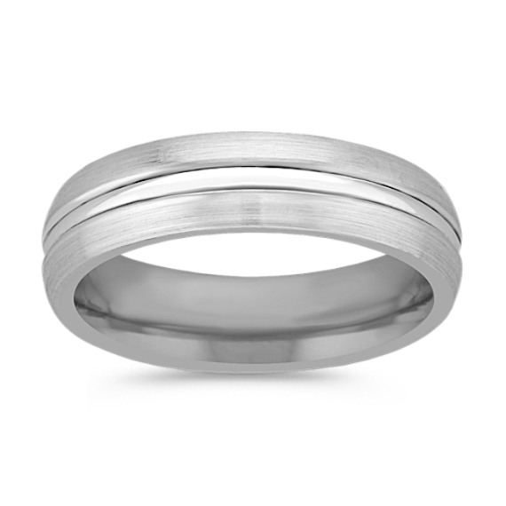 Cobalt Comfort Fit Ring (6mm)