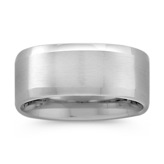 Cobalt Comfort Fit Ring (9mm)