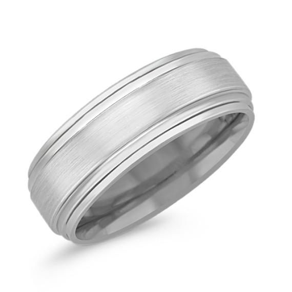 Cobalt Comfort Fit Ring (8mm)