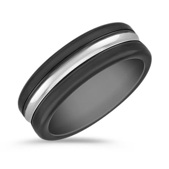 Cobalt Comfort Fit Ring (7.5mm)