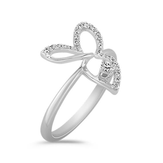 Contemporary Diamond Ring