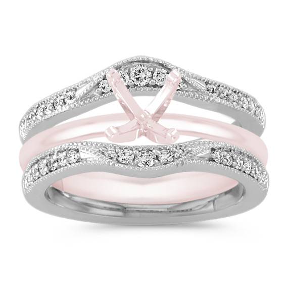 Contour Diamond Engagement Ring Guard