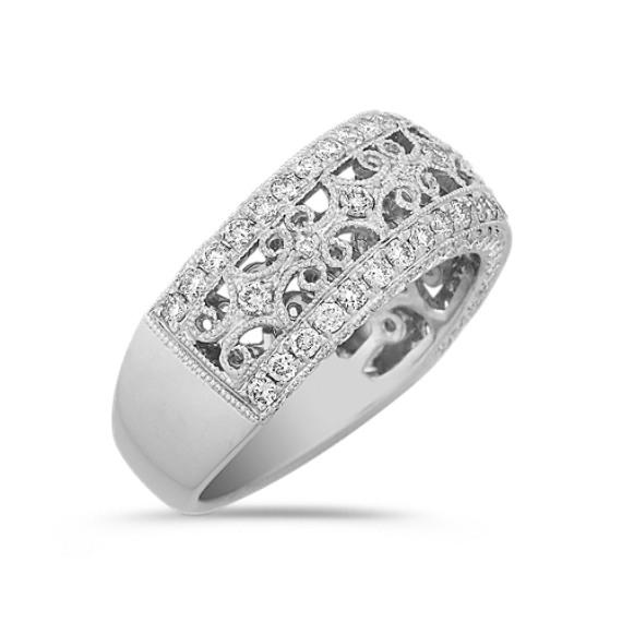Diamond Pavé Set Ring