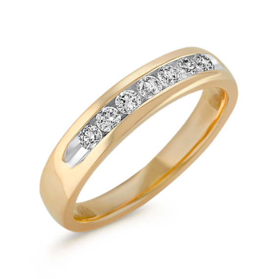 Diamond Ring with Channel Setting