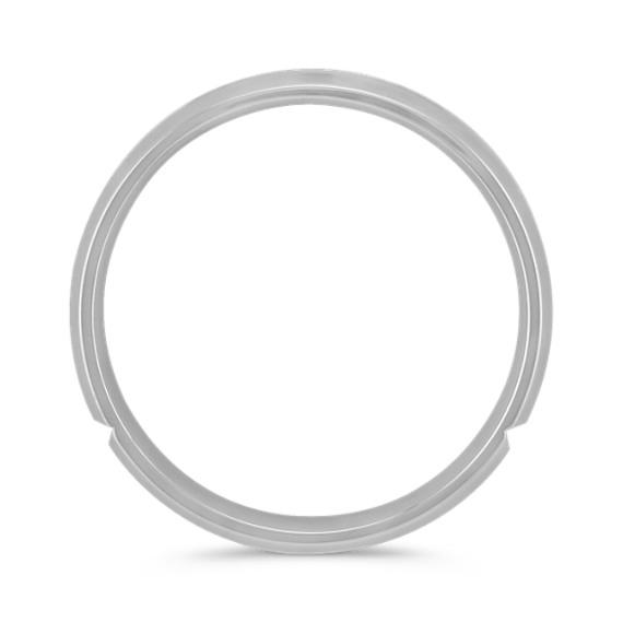 Diamond Ring with Satin Finish (6mm)