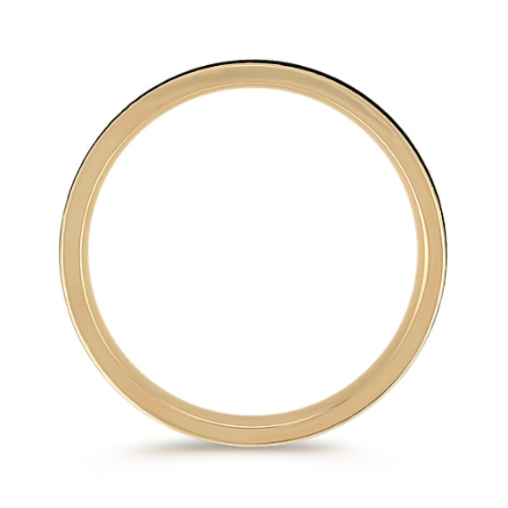 Engraved 14k Yellow Gold Comfort Fit Ring (6mm)
