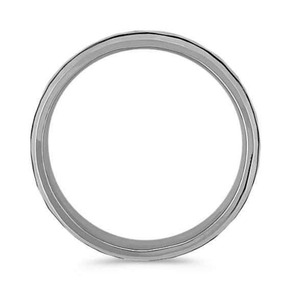 Hammered Men's Comfort Fit Ring (8mm)