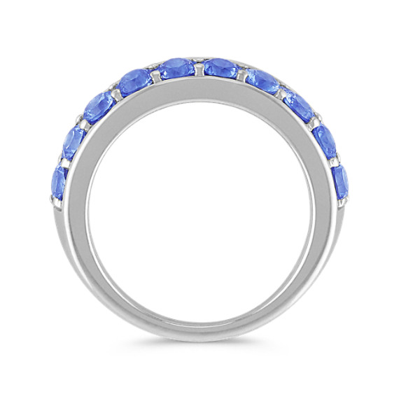 Kentucky Blue Sapphire Wedding Band