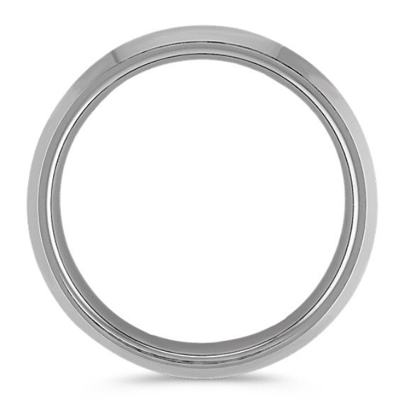 Max-T Brushed Titanium Comfort Fit Ring (6.5mm)