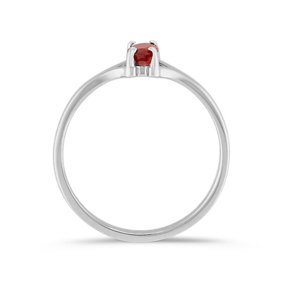 Oval Ruby Ring
