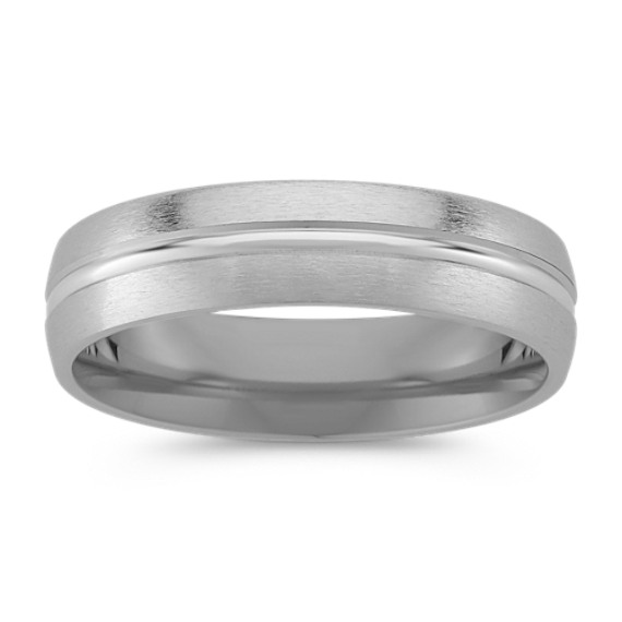 Platinum Comfort-Fit Ring (6mm)