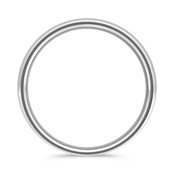 Platinum Comfort Fit Wedding Band (5.5mm)