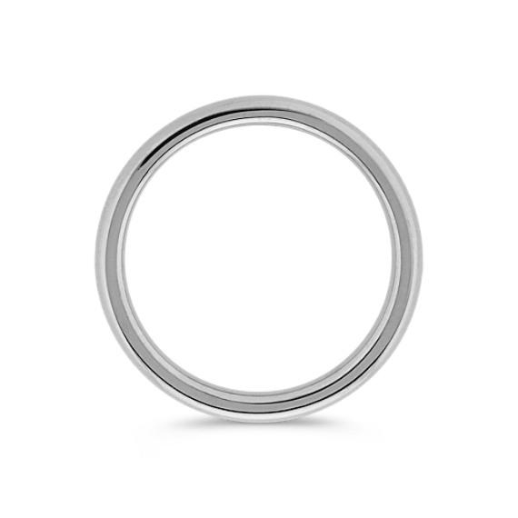 Platinum Comfort Fit Wedding Band (2mm)