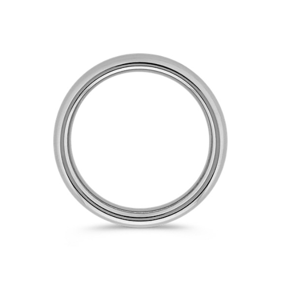 Platinum Comfort Fit Wedding Band (4mm)