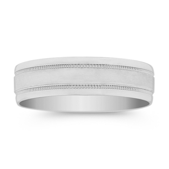 Platinum Wedding Band (6mm)