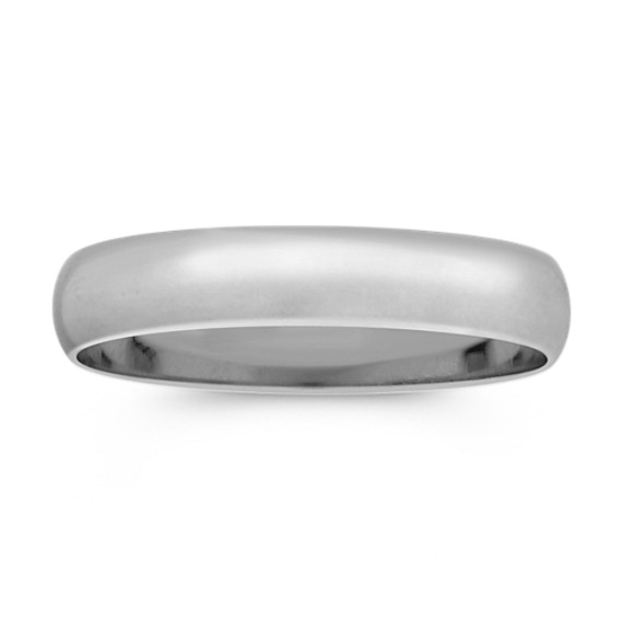 Platinum Wedding Band (4mm)