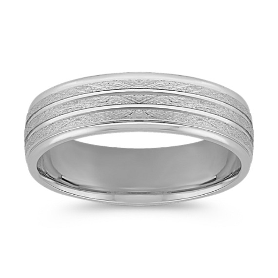 Platinum Wedding Band (6mm)