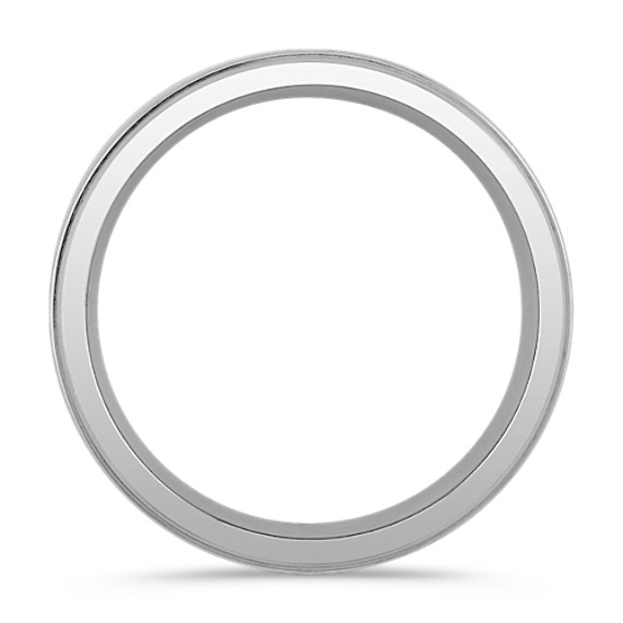 Polished Titanium Ring (7mm)