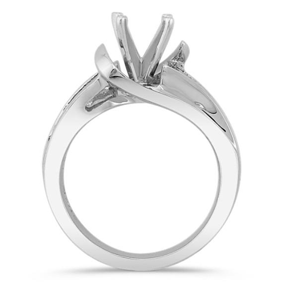 Princess Cut Diamond Engagement Ring in Platinum