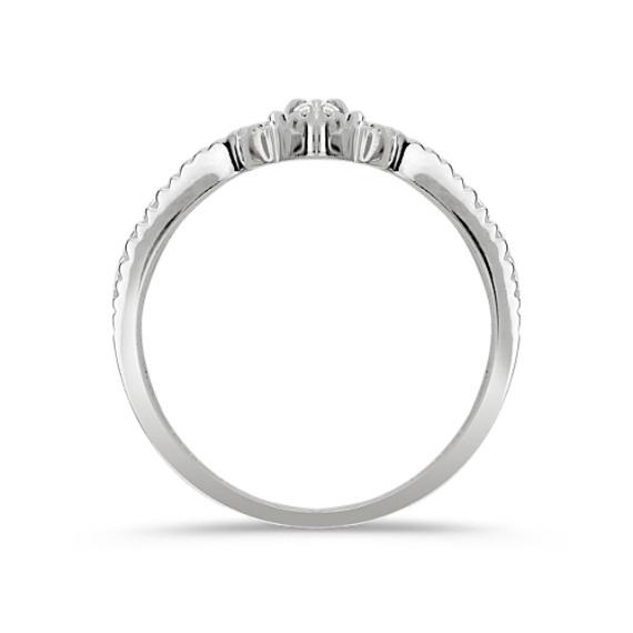 Round Diamond Heart Ring