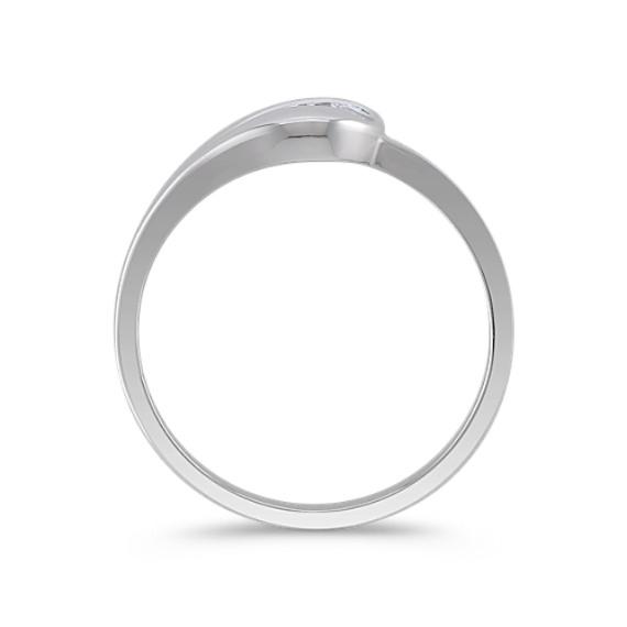 Round Lavender Sapphire Ring