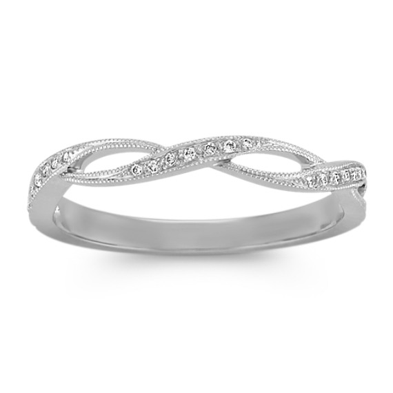 Stackable Infinity Diamond Vintage Ring