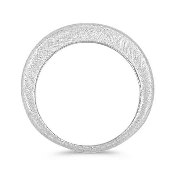 Sterling Silver Satin Ring