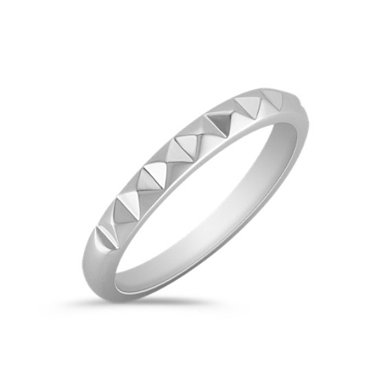 Studded Sterling Silver Ring