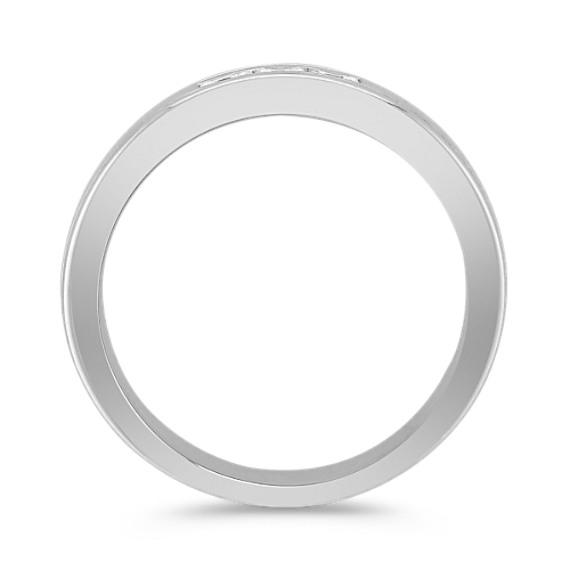 Three-Stone Princess Cut Diamond Ring