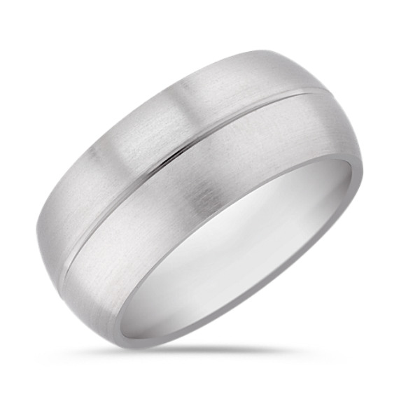 Titanium Comfort Fit Ring (10mm)