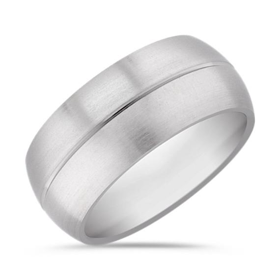 Titanium Comfort Fit Ring (10mm)
