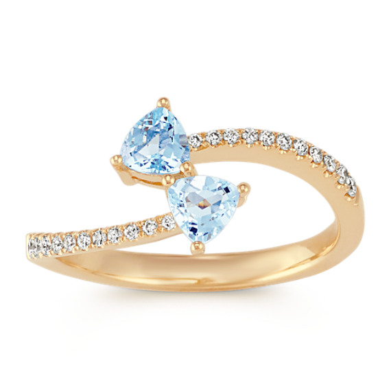 Aquamarine Rings In Store Denver