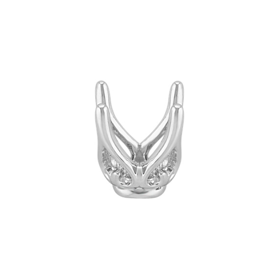 Ava Head to Hold up to .75 ct. Round Stone