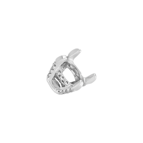 Diamond Alexa Head to Hold up to 1.00 ct. Round Stone