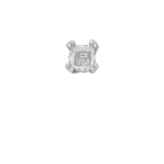 Diamond Alexa Head to Hold up to 1.25 ct. Cushion Cut Stone
