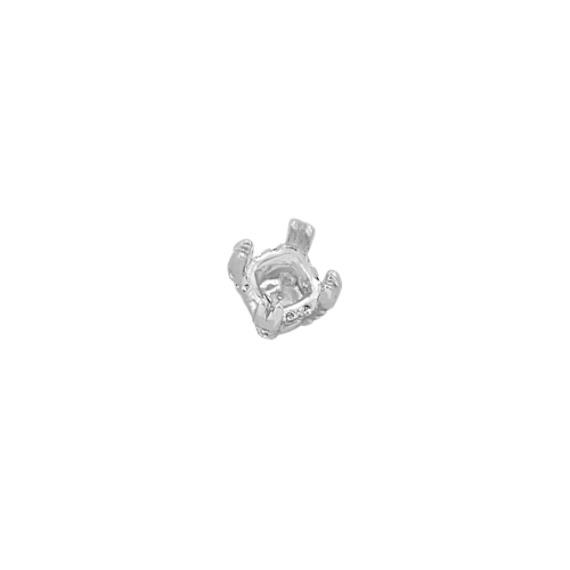 Diamond Alexa Head to Hold up to 2.00 ct. Cushion Cut Stone
